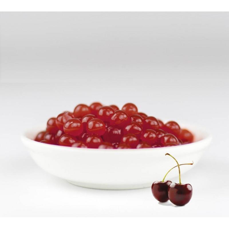 Perles de fruit cerise