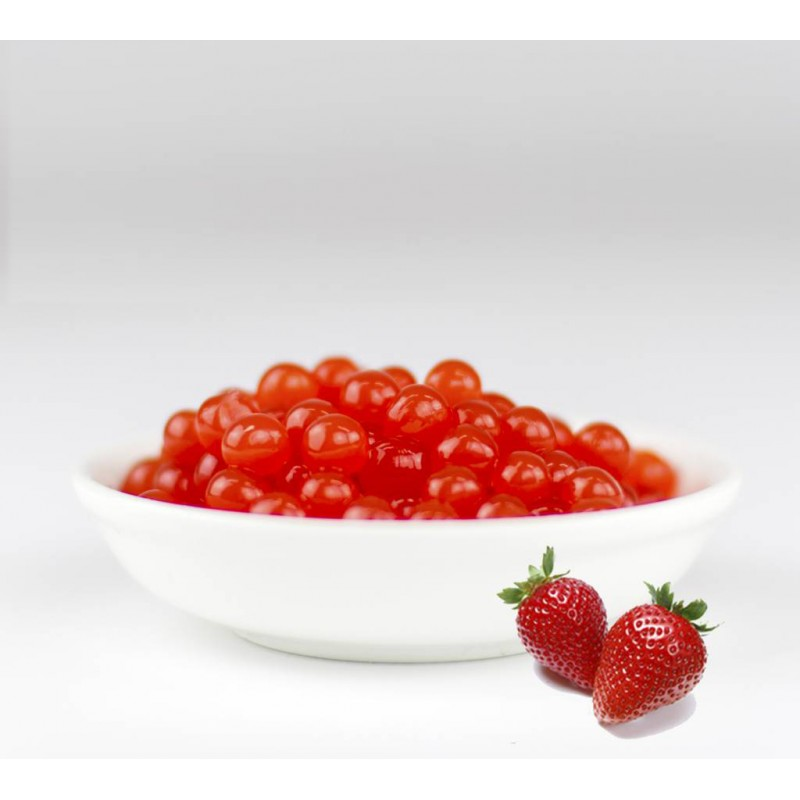 Perles de fruit fraise