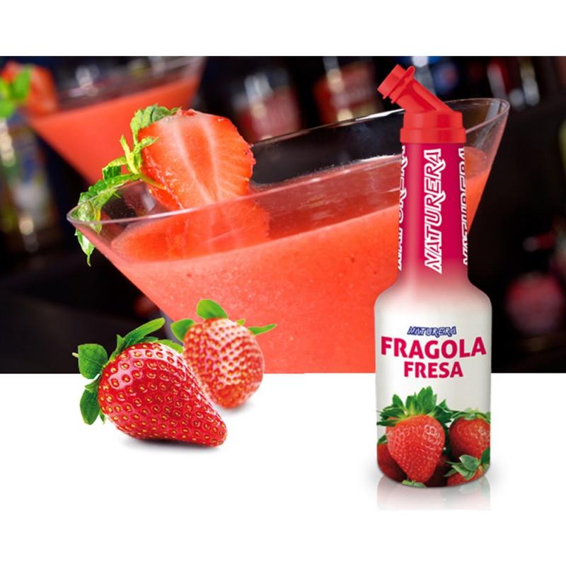 Bubble tea - sirop aromatisé fraise