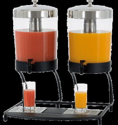 Distributeur de jus de fruit 2x8 L | Orca Distri