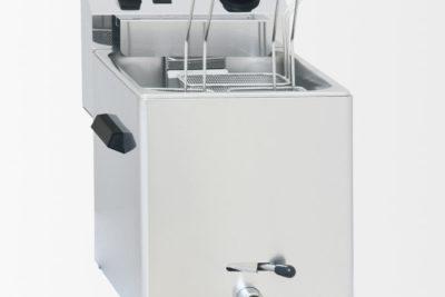 Cuiseur à pâtes électrique avec vanne de vidange – 3 paniers