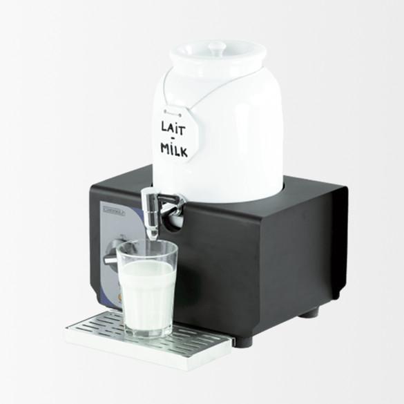 Distributeur de lait chaud