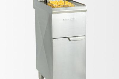 Friteuse électrique sur pieds 10 litres haut rendement