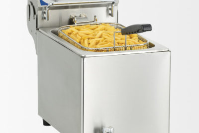 Friteuse électrique avec vanne de vidange 10 litres