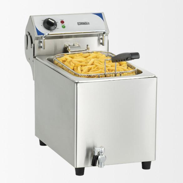 Friteuse électrique avec vanne de vidange 10 litres haut rendement