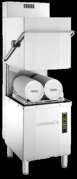 Lave-vaisselle à capot double paroi avec pompe de vidange et récupérateur de chaleur