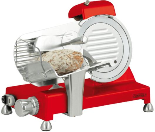 Trancheuse à jambon Ø 195 mm rouge