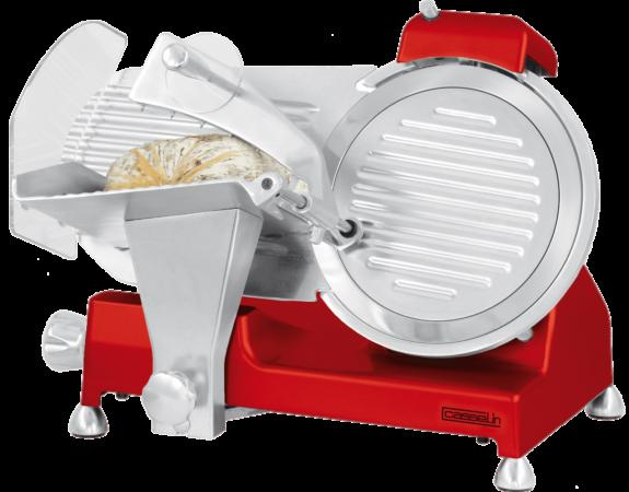 Trancheuse à jambon Ø 250 mm rouge