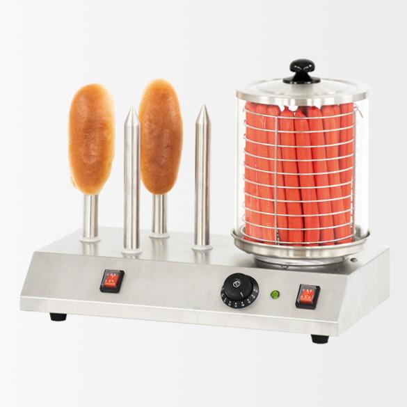 Appareil à hot-dog électrique 4 Plots
