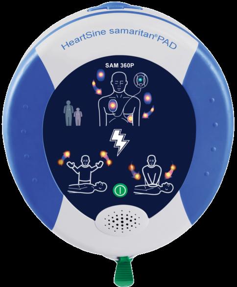 Défibrillateur Samaritan Pad 360P HeartSine