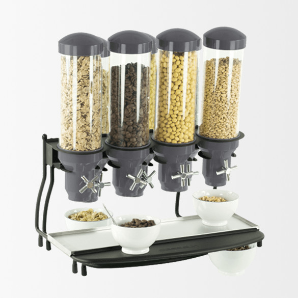 Distributeur de céréales 4 tubes