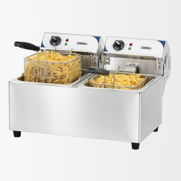 Friteuse électrique 2 x 7 litres