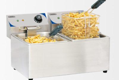 Friteuse électrique 2 x 8 litres
