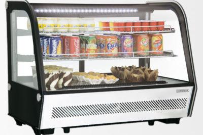 Vitrine réfrigérée à poser 160 litres