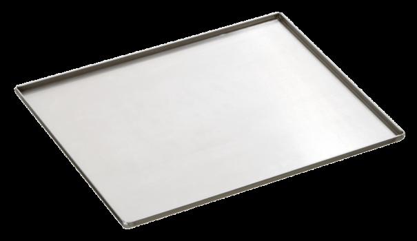 Plaque aluminium pour fours à convection pâtissier avec vapeur