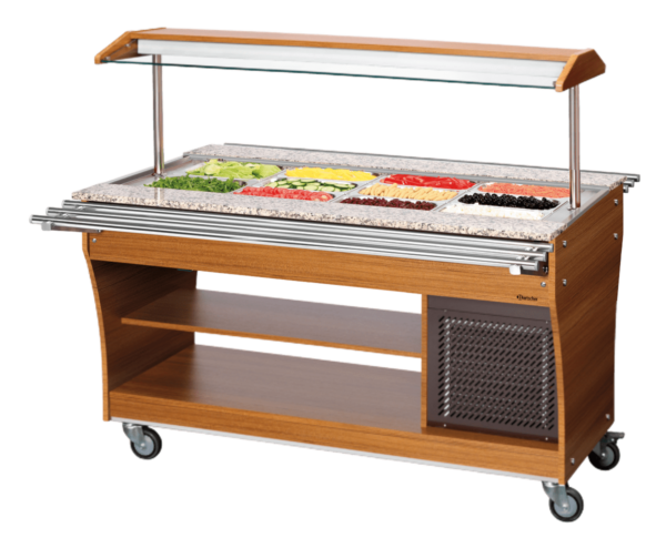 Chariot buffet froid 4x1/1 GN