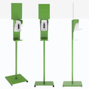 Distri Gel Coude – distributeur de gel désinfectant en libre-service