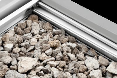 Grill Pierre Lave 400, 900 | Dotation pierre lave pour première utilisation