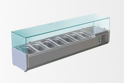 Structure réfrigérée VRX180 9 bacs GN1/4