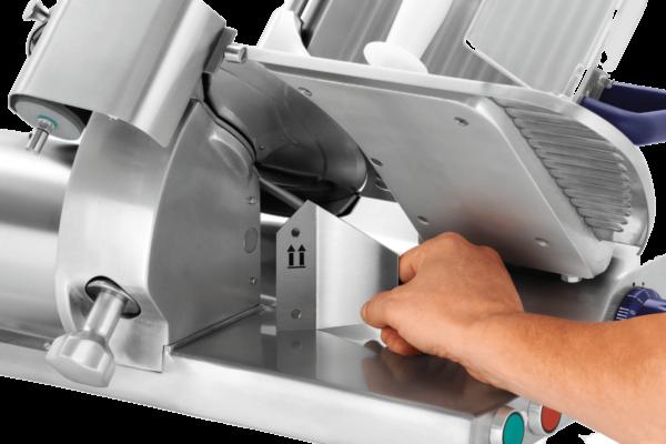Trancheuse PRO 250-G | Guide découpe propre-fixation magnétique