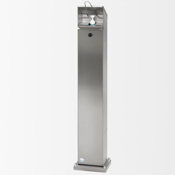 Borne distributrice de gel désinfectant pour bouteille 1 litre