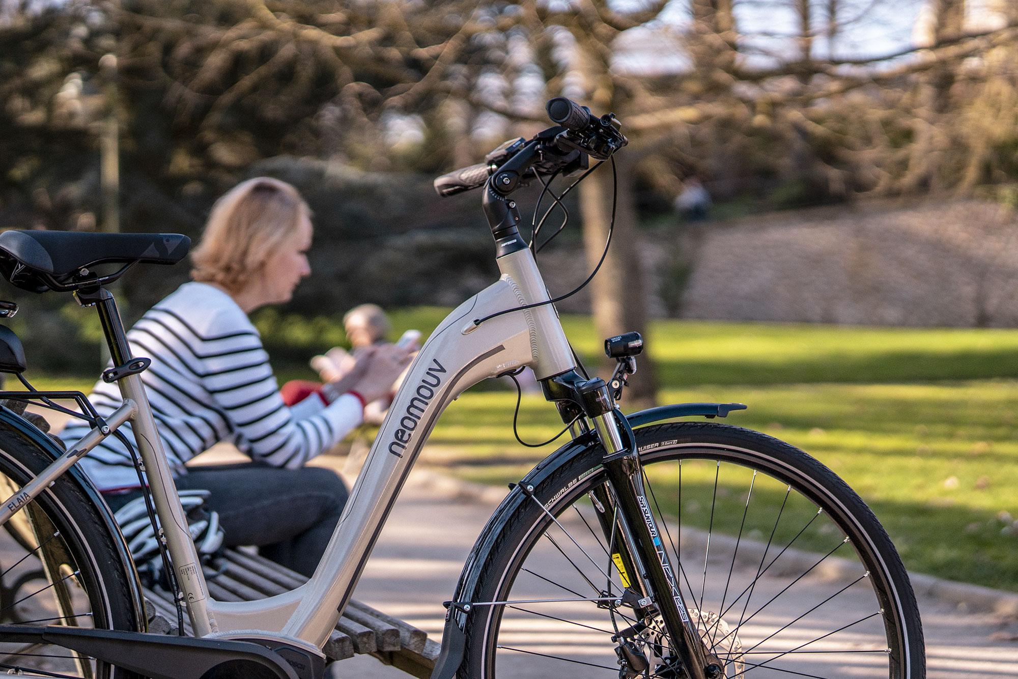 VAE ELAÏA - Vélo à assistance électrique urbain et péri-urbain
