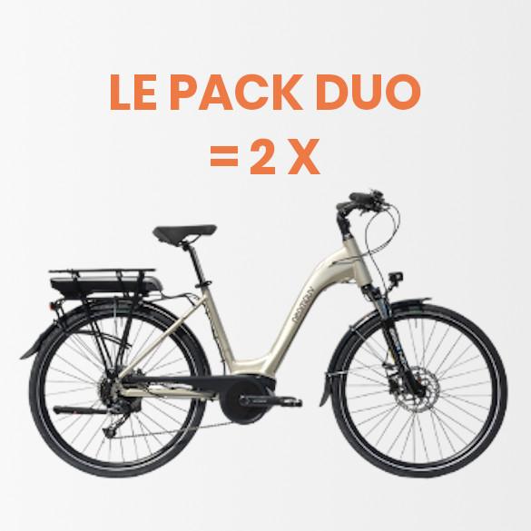 Pack Duo – Location de 2 vélos éléctriques