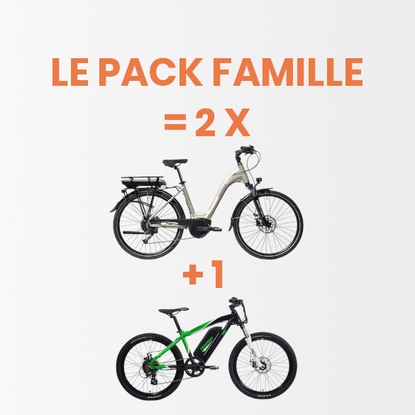 Gamme Loisirs | Pack Famille