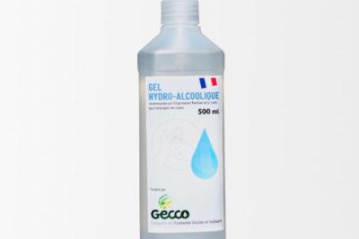 Bouteille 500ml Gel HydroAlcoolique avec POMPE