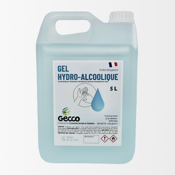 Bidon 5 litres Gel HydroAlcoolique
