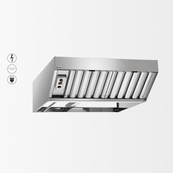 """Fours mixtes / Accessoires / Hotte à condensation """"M,E+T"""" 370"""