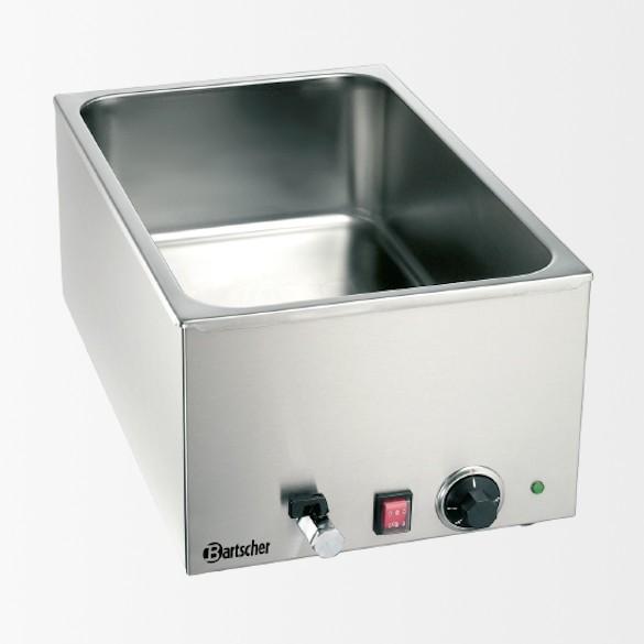 Bain Marie, 11GN, 150mm, robinet