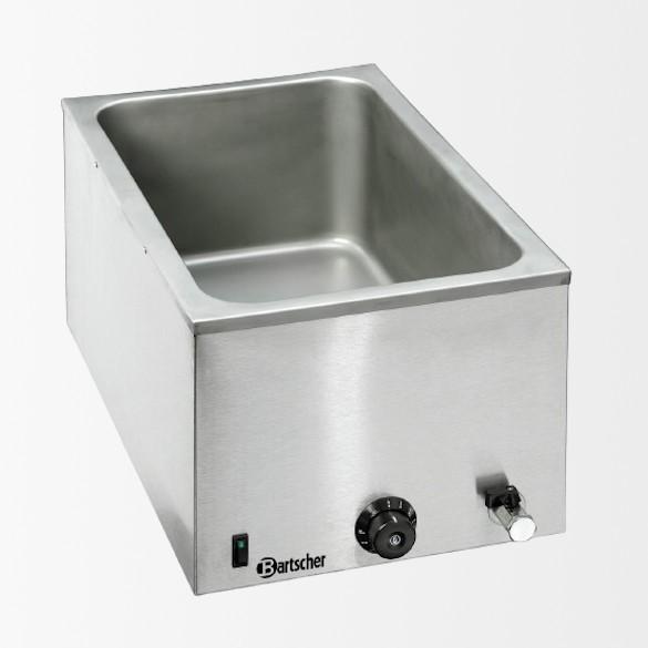 Bain Marie, 1/1GN, 200mm, robinet