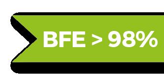 BFE>98%
