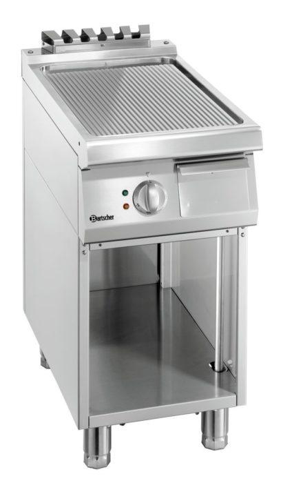 Plaque grill 700, L400, nervurée
