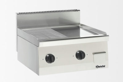 Plaque grill 600, B600, 1/2-1/2