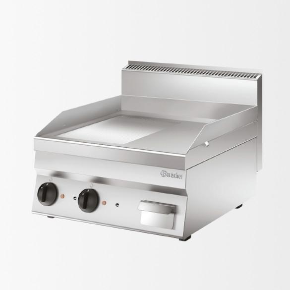 Plaque grill 650, L600, 1/2-1/2