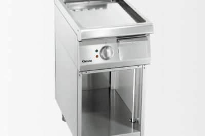 Plaque grill 700, L400, lisse