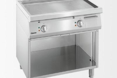 Plaque grill 700, L800, lisse