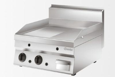 Plaque grill gaz 650, L600, 1/2