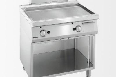 Plaque grill gaz 700, L800, lisse
