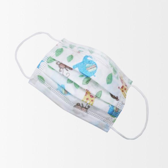 Masques pédiatriques – Masque jetable pédiatrique type 2R – 6 à 10 ans