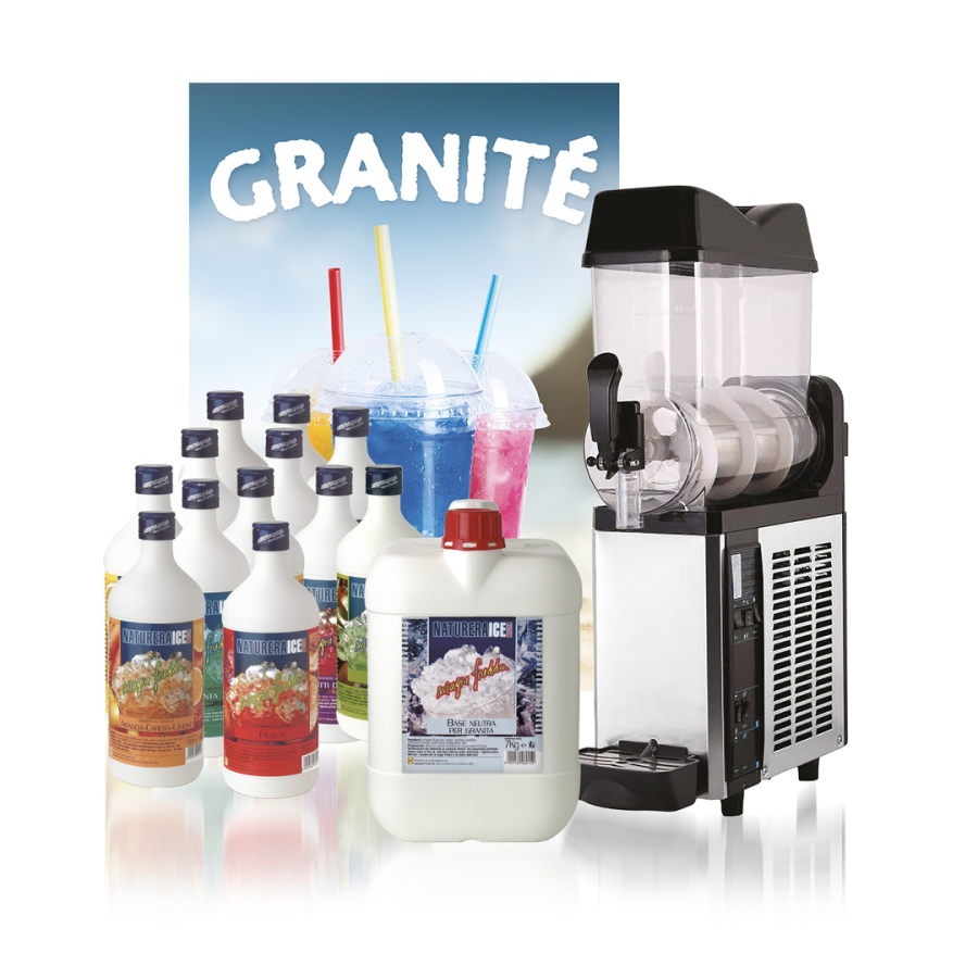 Kit granita 1 bac (machine G12x1)
