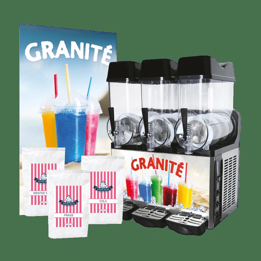 Kit granita 3 bacs (machine G12x3)