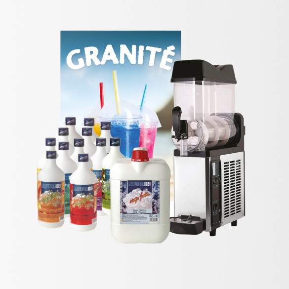 Kit Granita 1 Bac | machine G12X1